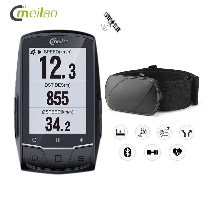 GPS vélo ordinateur compteur de vitesse Candence fréquence cardiaque sans fil vélo ordinateur Gps Navigation 2.6
