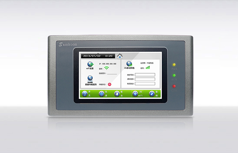 Samkoon  AK-043BS 4.3  TOUCH SCREEN & HMI PANEL WITH PROGRAMMING CABLE AND SOFTWARE,HAVE IN STOCK