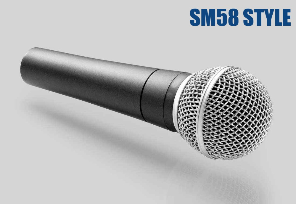 SM clásico 58 57 tradicional con cable handheld vocal karaoke canto sm58lc micrófono dinámico