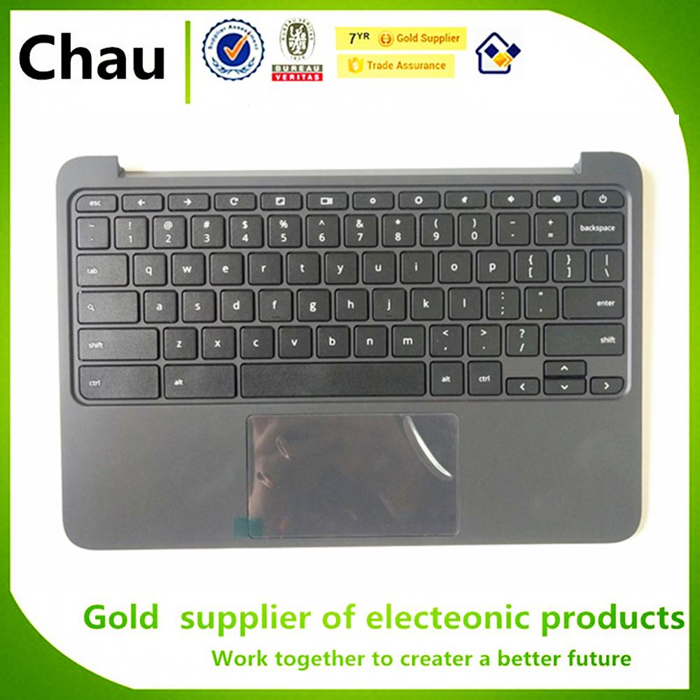 New For HP Chromebook 11 G5 EE Upper Case Palmrest Cover Top Cover With Keyboard Touchpad P/N 917442-001New For HP Chromebook 11 G5 EE Upper Case Palmrest Cover Top Cover With Keyboard Touchpad P/N 917442-001