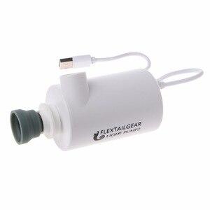 Image 4 - Mini bomba de aire ligera a prueba de agua, carga USB para inflables, inflado rápido