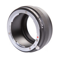 Free Shipping Wholesale Fotga Nikon Lens To NEX E Mount Adapter NEX 7 NEX 5 NEX