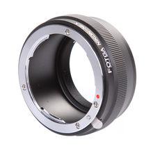 Fotga Digital Lens Adapter Ring for Nikon Lens to NEX E Mount Adapter NEX-7 NEX-5 NEX-3 NEX-VG10