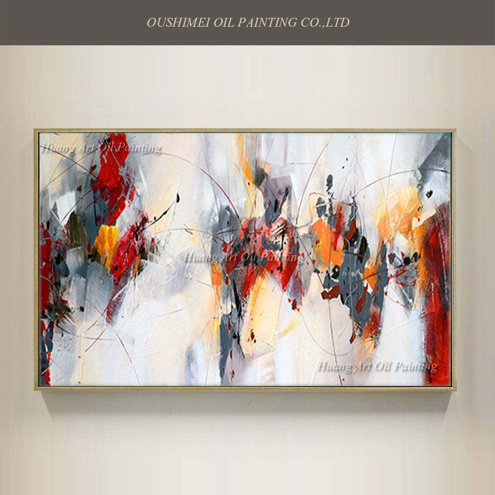 New Style Oil Painting On Canvas For Room Decor Modern Big Size 100% Handmade Abstract Picture Hand Painted Custom-made Painting