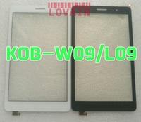 LOVAIN 10Pcs White Black Original For Huawei MediaPad T3 8 0 KOB L09 KOB W09 Digitizer