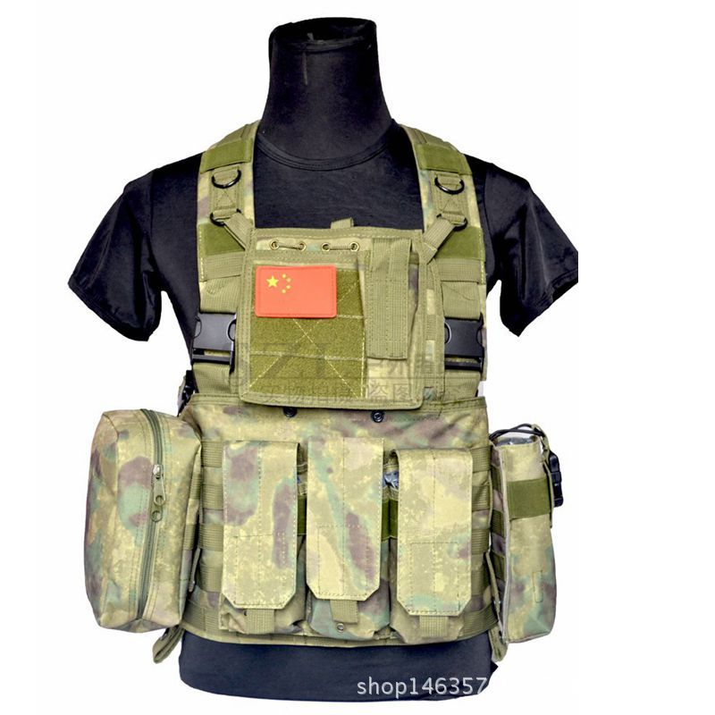 NEW Outdoor CS game tactical vest protective battle field vest black camouflage adjustable module training combat hiking vest airsoft adults cs field game skeleton warrior skull paintball mask