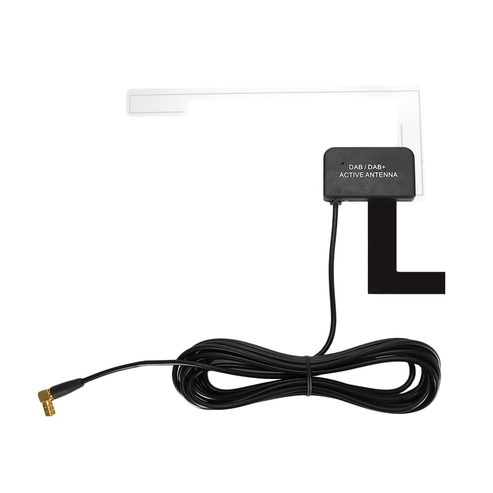 DAB DAB  301 SMB Car Digital Active Antenna for Radio TV Receiver Box SMB Connector