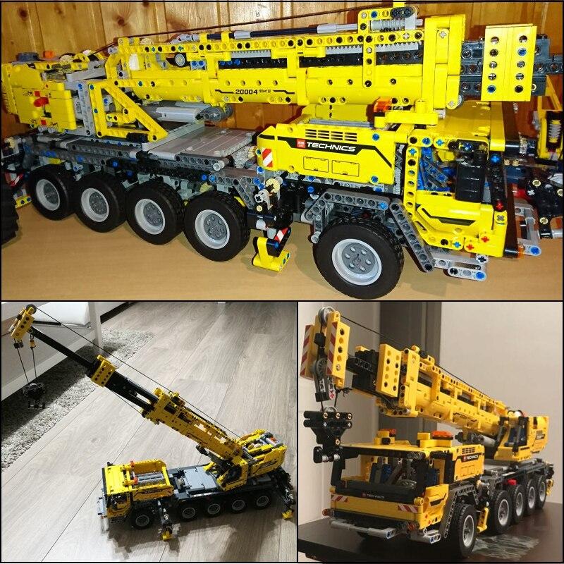 LEPIN 20004 2606Pcs 20001 Technic Motor Mk II 20086 Bugattied Chirons Building Bricks Blocks Toys for Children 42056 42009 42083