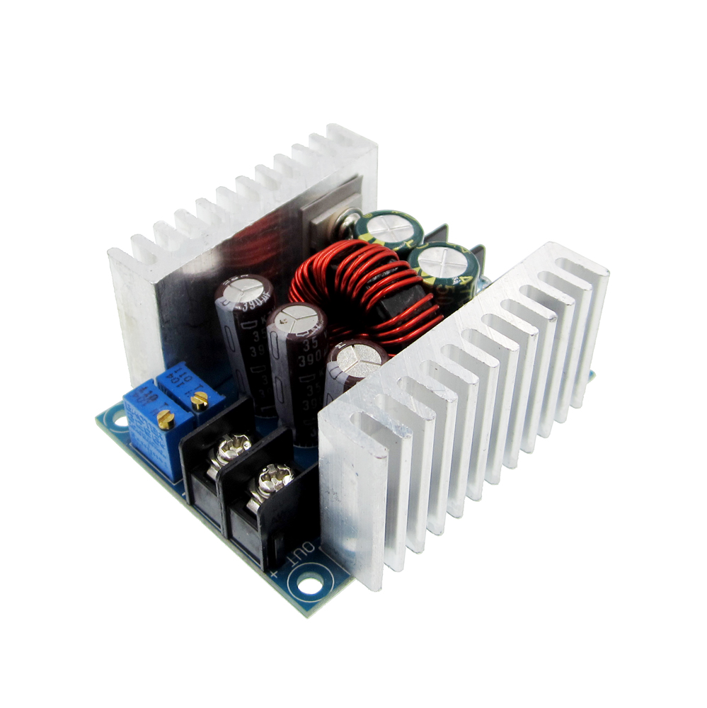 300W 20A DC-DC Buck Converter Step Down Module Constant Current LED Driver Power Step Down Voltage Module Electrolytic Capacitor dc dc automatic step up down boost buck converter module 5 32v to 1 25 20v 5a continuous adjustable output voltage