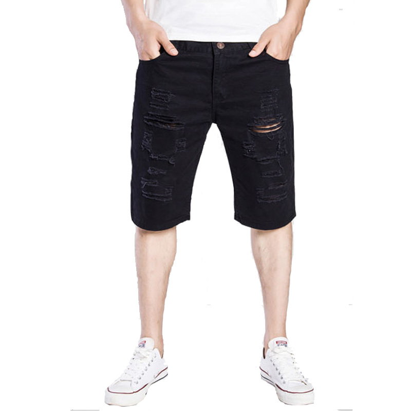 WSGYJ Denim   Shorts   Men 2019 Brand Fashion Casual Hole   Short   Jeans Korean Comfortable Chino   Shorts