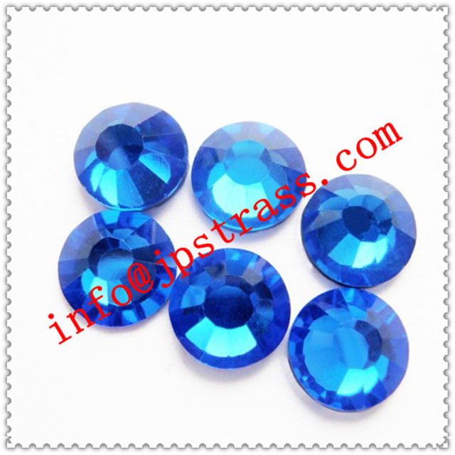 super shiny of hot fix in dmc ss16 sapphire color size 4mm with 1440 pcs  each 43df7ea1b1a2