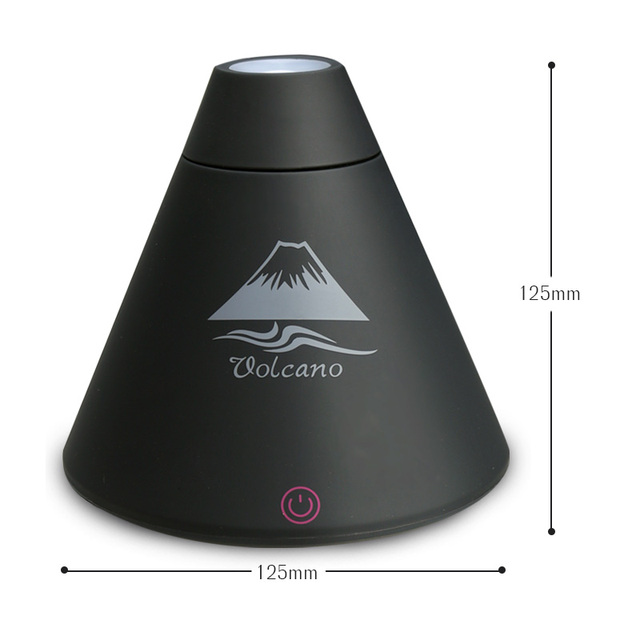 TINTONLIFE Creative Volcano Style USB Ultrasonic Humidifier With Colorful Led Light Essential Oil Aroma Diffuser Auto Off Touch Humidifiers