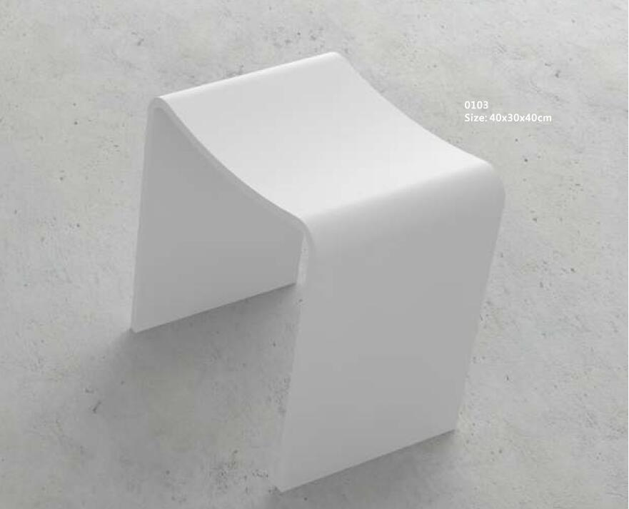 Astounding Us 430 0 Solid Surface Stone Small Bathroom Step Stool Bench Chair Bathroom Curved Modelling Steam Shower Stool 103 In Bathroom Chairs Stools From Creativecarmelina Interior Chair Design Creativecarmelinacom