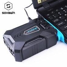 Próżniowy przenośny notatnik chłodzenie laptopa USB zewnętrzny wentylator chłodzący do laptopa prędkość regulowana do 15 15.6 17 cali