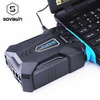 Vacío portátil ordenador portátil enfriador USB aire extractor ventilador de refrigeración externo para Laptop velocidad ajustable para 15 15,6 17 pulgadas