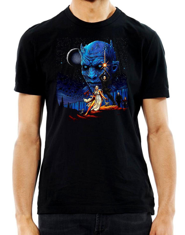 Game of Star Wars T-Shirt Mens Unisex Black T Shirt