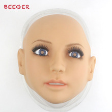 NEW! SH-14 Top quality silicone female masks crossdresser, human face mask