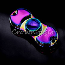 Colorful Fidget Spinner alloy rainbow 120-180s Metal gyroscope Hand Spinner for Finger autism ADHD adult childen anti stress Toy