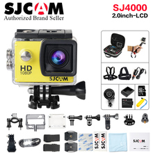 Original SJCAM SJ4000 Basic mini Action Cam Waterproof helmet cam 1080P Full HD mini Camcorder 12MP sports DV cam deportiva