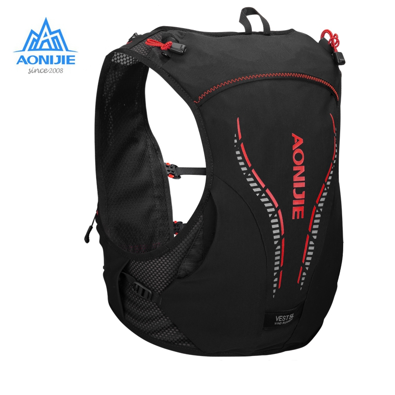AONIJIE 5L Backpack Hydration C950 Breathable Lightweight Vest Harness Water Bladder Hiking Running Marathon Race Camping