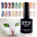 24 Colores Magnética Ojo de Gato de Uñas de Gel Polaco del Gel de Larga duración UV Gel de Uñas Soak-off UV LED Color Gel Barniz 10 ML/PC-M01