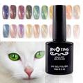 24 Colores Magnética Ojo de Gato de Uñas de Gel Polaco del Gel de Larga duración UV Gel de Uñas Soak-off UV LED Color Gel Barniz 10 ML/PC-M01