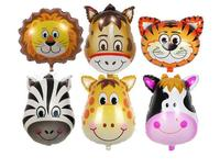 Party Theme Animal Ballons Jungle Party Zoo Helium Foil Air Balloon Kids Birthday Party Decorations Baloon Kit Balon
