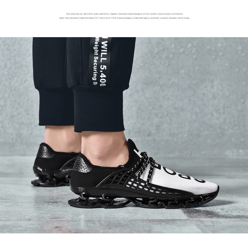 18 New Breathable QIYHONG Men Sneakers Unisex Couple Shoes Basket Femme Hard-Wearing Tenis Feminino Male Footwear Plus Size 5
