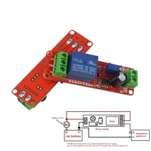 цена на NE555 0~10S Adjustable Module DC 12V Delay Relay Shield Timer Switch