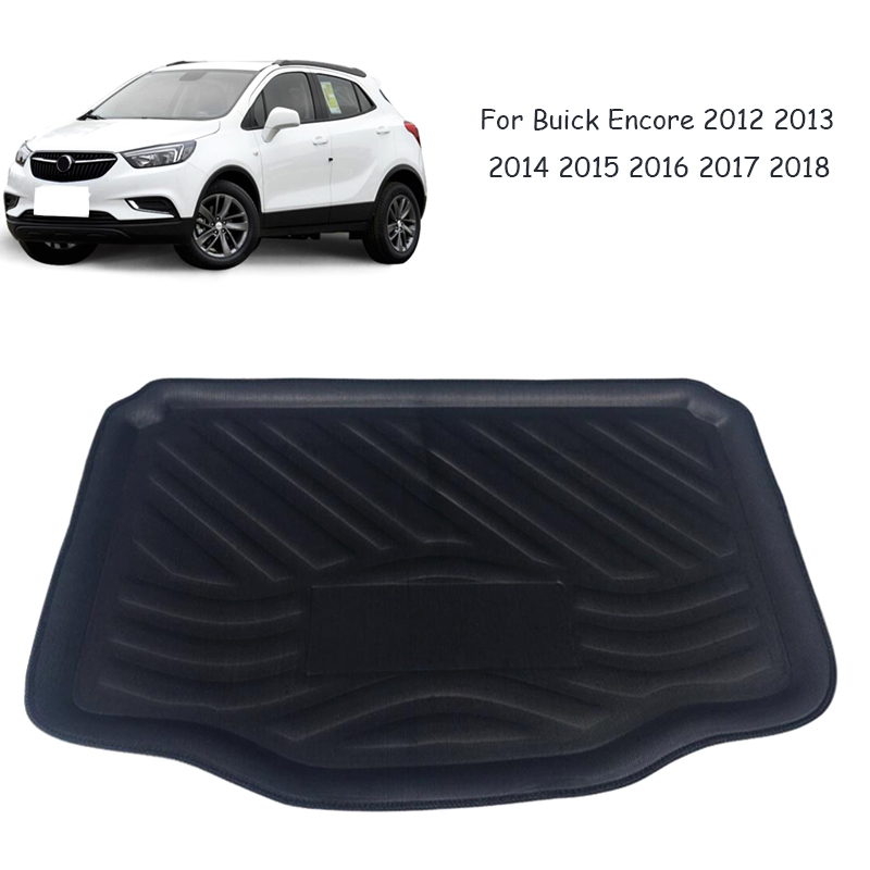 Home Honest Rear Trunk Cargo Boot Liner Mat Floor Tray Carpet Protector Pad For Buick Encore 2012 2013 2014 2015 2016 2017 2018