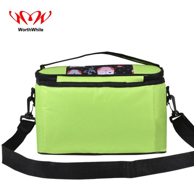 WorthWhile Camping Picnic Bag Thermal Basket Lunch Cooler Box Outdoor Hiking Kid Women Men Fresh Storage Large Capacity