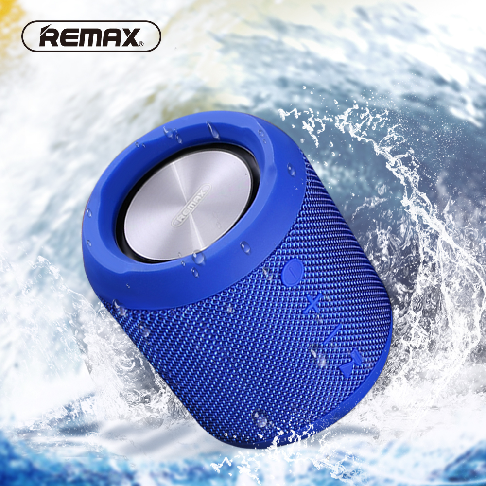 все цены на REMAX Portable Wireless Bluetooth Speaker with Dual-driver IPX5 Waterproof FM Radio Party Speaker TF TWS AUX Outdoor Loudspeaker