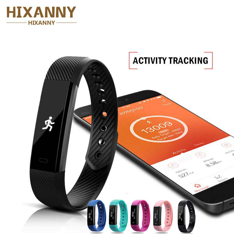 Smart Wristbands Fitness Tracker Smart Bracelet  Pedometer Bluetooth Smartband Waterproof Sleep Monitor Wrist Watch For kids men