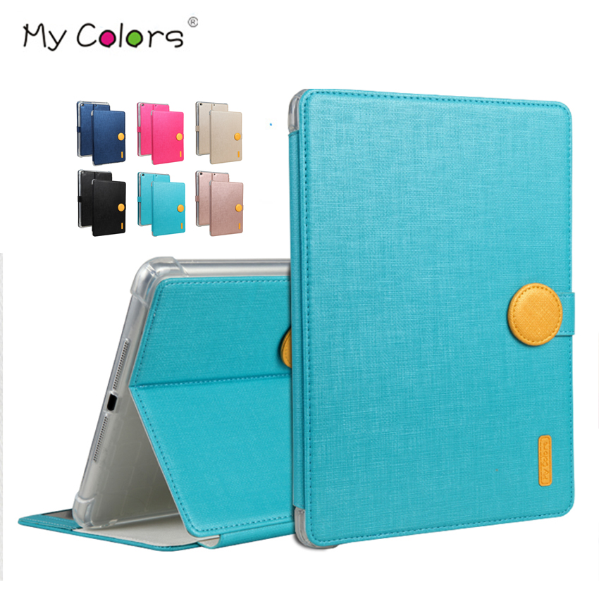 For iPad 5 6 air 2 Jean PU Leather Case Cover Protective Stand Skin For Apple iPad 2017 9.7 air New Smart Tablet PC Cover Fundas for apple ipad air 2 pu leather case luxury silk pattern stand smart cover