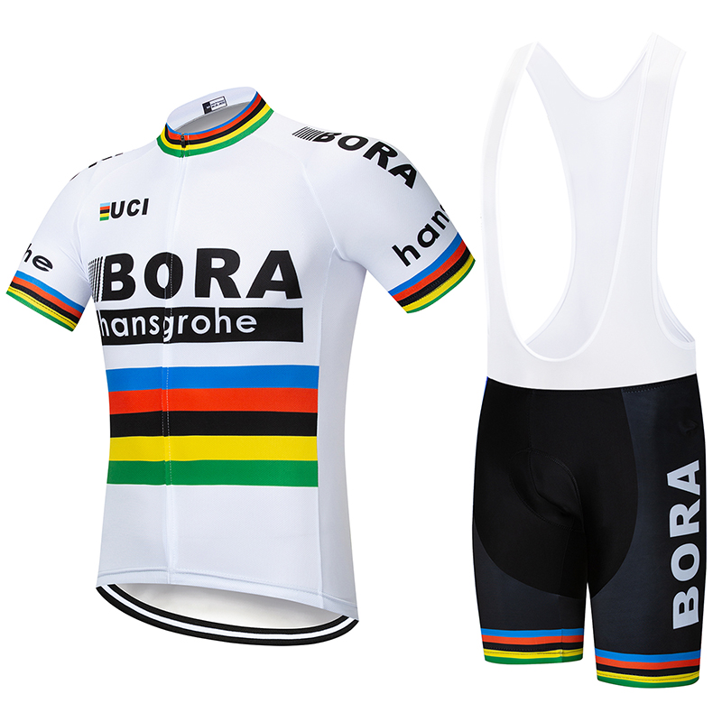 2018 Bora Cycling Jersey Sets Pro team Men Short Sleeve Mtb Cycling Clothing Bicycle Bike фонарь ручной uniel off road 06595
