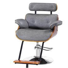 Ретро парикмахерский салон стул ожидание окрашивания горячего кресла стрижка стул парикмахерский салон гидравлическое кресло мастер стул мастерство