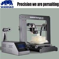 2017 новые WANHAO I3 V2.1 алюминиевого профиля 3D принтеры комплект принтер 3d печати 1 рулон нить SD card как подарок