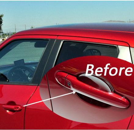 JUKE Car Door Handle Cover Auto Door Handle Trims for Nissan Juke 2010-2018 ABS Chrome Handle Cover