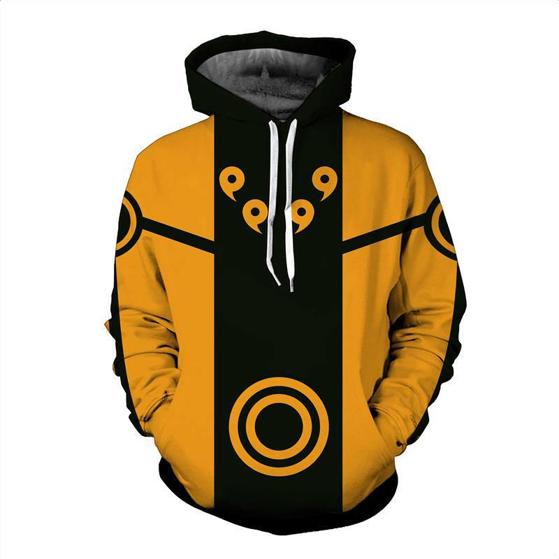 Digital 3D anime print fashion boutique unisex Naruto hoodie cool high quality men/women casual sport hooded sweatshirt pullover