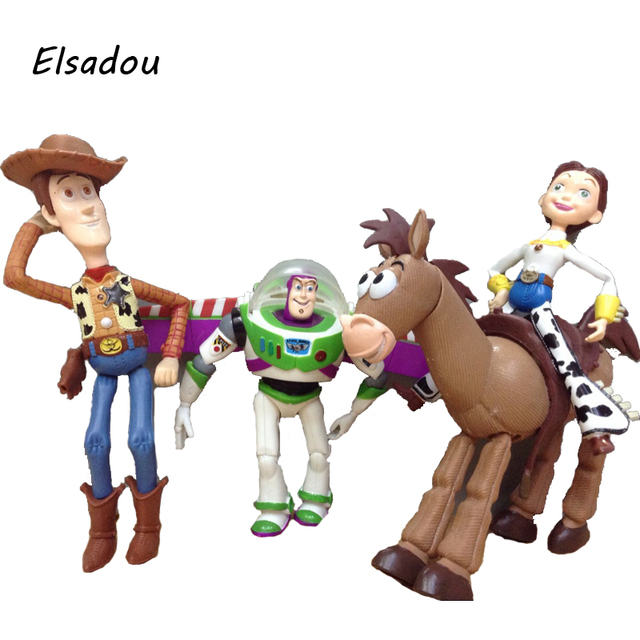 Aliexpresscom  Buy Elsadou 4pcsset Toy Story 3 Buzz Lightyear
