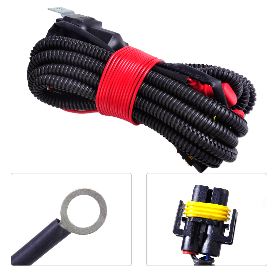 beler New Arrival H11 Female Adapter Wiring Harness Sockets Wire Connector  for Fog Light Lamp For Ford Focus Acura Nissan Honda-in Wire from  Automobiles ...