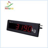 Y1801 LED scoreboard weighing indicator scale display 3 inches