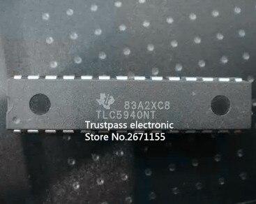 50pcs lot TLC5940NT TLC5940 DIP28 Original electronics driver ic