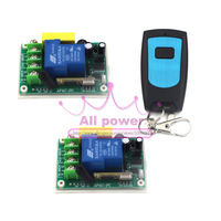 220v High Power Water Pump Remote Control Switch 1CH 30A Relay Free Shipping
