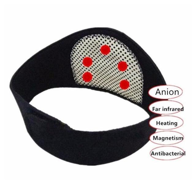 Health Care Neck Support Massager 1Pcs Tourmaline Self-heating Neck Belt Protection Spontaneous Heating Belt Body Massager
