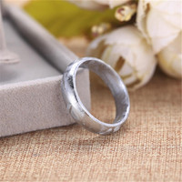 Genuine Natural Gibeon Iron Meteorite Moldavite Ring For Woman Lady man Silver Cover Stone US Size 7 8 9 10 AAAAA Drop Shipping