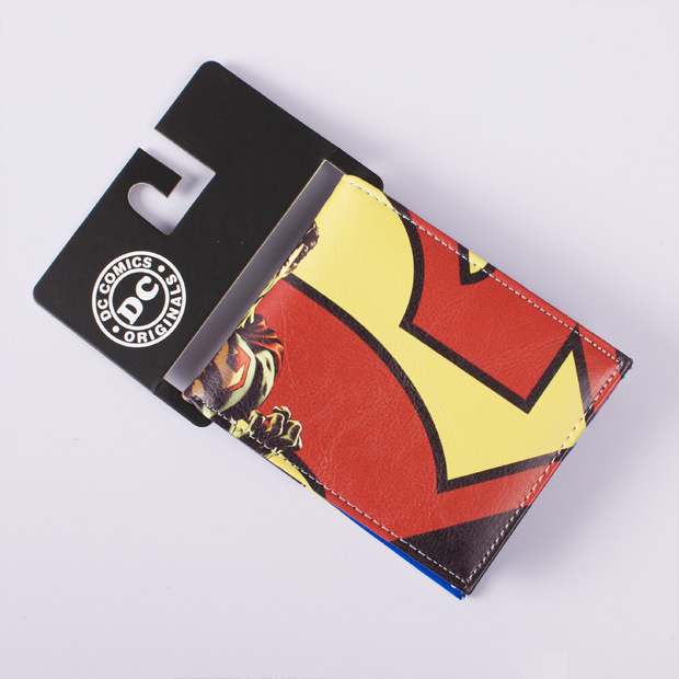 DC Marvel Comics Superman Leather Wallet Men Cartoon Anime Hero Purse Gift Bags for Boys Wallets холти аксессуары
