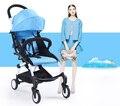 Design de moda haute poussette paysage skyblue carrinhos de bebê portátil dobrável carrinho de Bebê Carrinho De Criança dobrável Luz durável cadeira de rodas