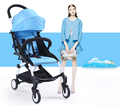 Fashion design poussette haute paysage skyblue prams portable Baby Stroller foldable Light durable folding stroller wheelchair