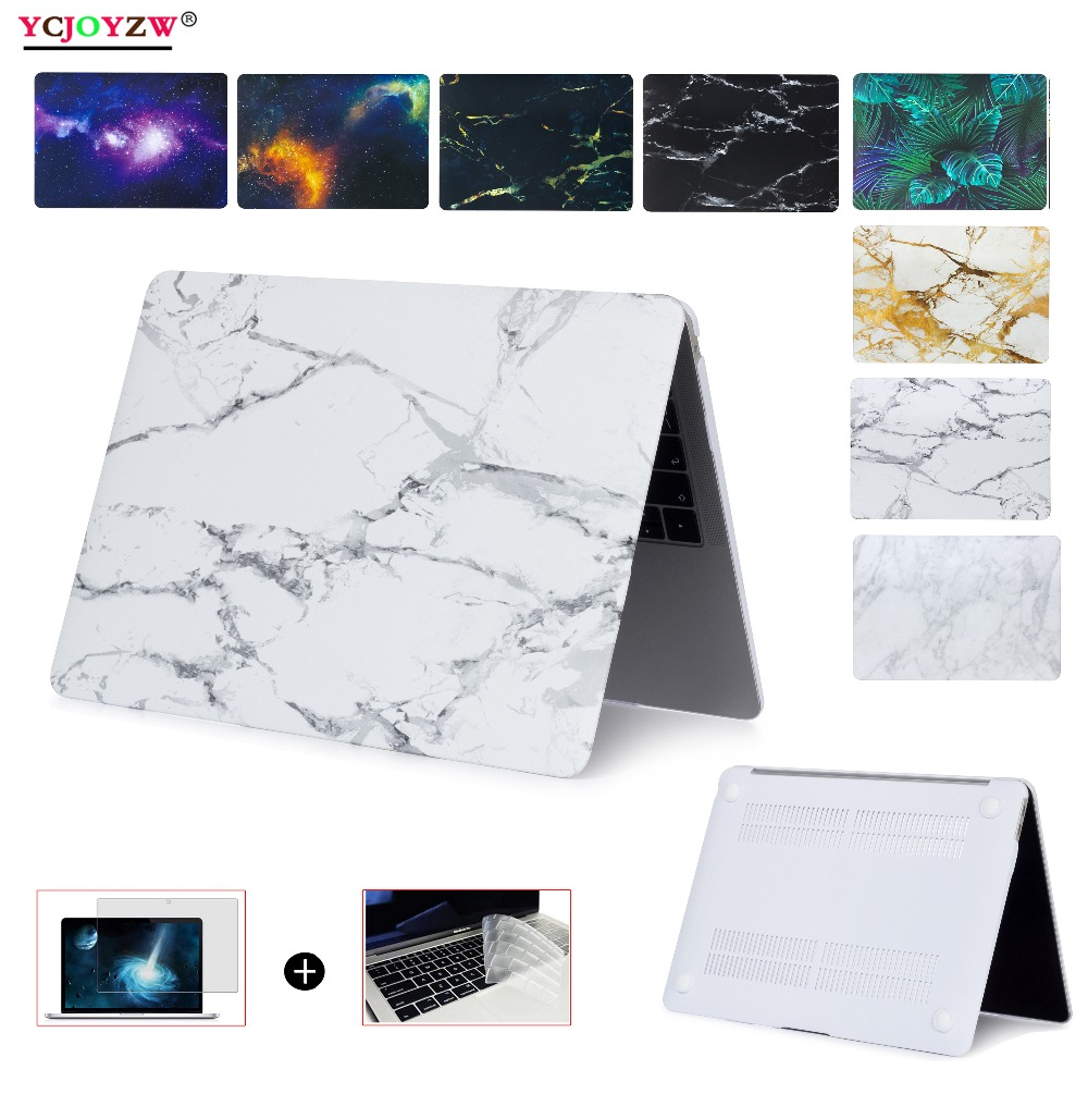 Laptop Case For MacBook Air 13 Pro Retina 11.6 12 13.3 15.4 , 2016 2017 2018 Pro 13 15 inch with Touch Bar New Air13 ID : A1932 image